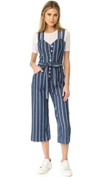 7 For All Mankind Button Front Jumpsuit Seaside