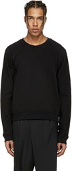 Haider Ackermann Black Short Pullover