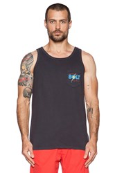 Lightning Bolt The Original Pocket Tank Charcoal
