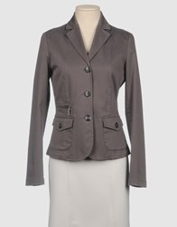 Ter De Caractere Suits And Jackets Blazers Women Grey