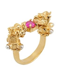 First People First Rings Fuchsia