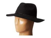 Bcbgeneration Id Tag Panama Black Traditional Hats