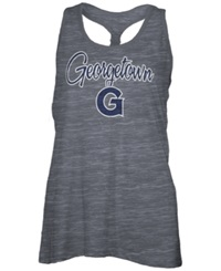 Royce Apparel Inc Women's Georgetown Hoyas Nora Tank Top Charcoal