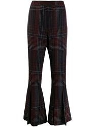 Marco De Vincenzo Flared Trousers Black