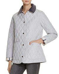 Barbour Spring Annandale Quilted Jacket Ice White
