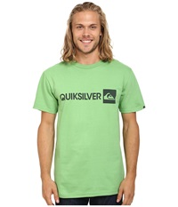 Quiksilver Everyday Gothic Tee Shamrock Men's T Shirt Green