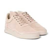 Filling Pieces Ghost Suede Sneakers Pink