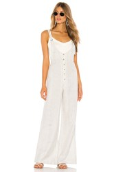 Amuse Society Fina Overall Jumpsuit Gray