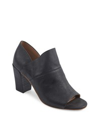 Me Too Mckenna Leather Ankle Boots Black