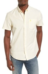 Original Penguin Men's Stripe Short Sleeve Oxford Shirt