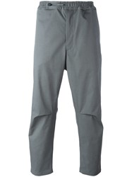 Oamc Loose Fit Trousers Grey