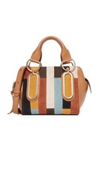 See By Chloe Paige Patchwork Satchel Passito