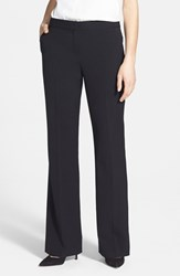 Anne Klein Petite Women's Straight Leg Pants Black