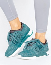 Asics Gel Lyte Iii Sports Performance Trainers Turquoise 4848 Blue