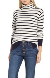 J.Crew Women's Pierre Stripe Rib Turtleneck