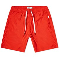 Onia Charles 7 Solid Swim Short Red