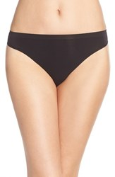 Women's Nordstrom Lingerie Seamless High Cut Briefs Black
