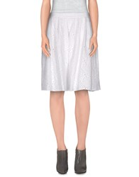 Ottod'ame Skirts Knee Length Skirts Women White
