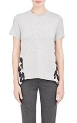 Thakoon Addition Combo T Shirt Colorless