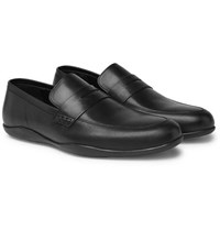 Harry's Of London Downing Leather Penny Loafers Black