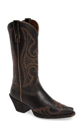 Ariat Women's Round Up D Toe Wingtip Western Boot