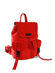 Kendall Kylie Mesh Parker Backpack Red