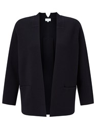 Jigsaw Milano Pleat Back Jacket Navy