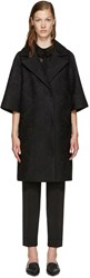 Erdem Black Mesh Lace Coat