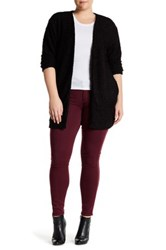 14Th And Union Nepped Knit Open Cardigan Plus Size Black