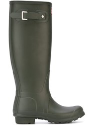 Outsource Images Wellington Boots Green