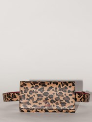 Christian Louboutin Boudoir Chain Leopard Leather Belt Bag