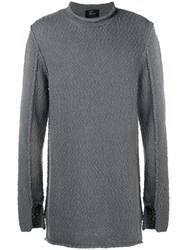 Lost And Found Ria Dunn Over Sweater Grey