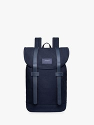 Sandqvist Stig Organic Cotton Backpack Navy