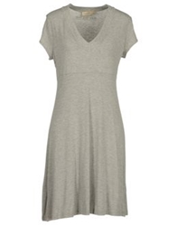 Just For You Short Dresses Light Grey