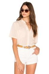 Obey St. Marina Button Down Coral