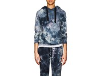 Nsf Lisse Tie Dyed Cotton Hoodie Blue