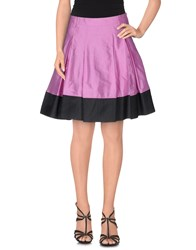 Patrizia Pepe Skirts Knee Length Skirts Women Purple