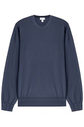 Brioni Wool Pullover Blue