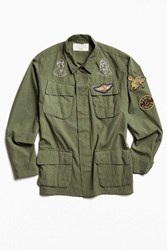 Deus Ex Machina Military Shirt Jacket Olive