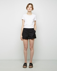 Maison Martin Margiela Extrafine Wool Shorts Black
