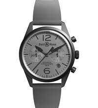 Bell And Ross Pvd Commando Watch Black