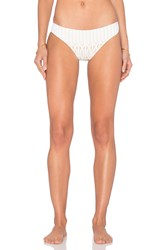 Nightcap Sprial Lace Brazilian Bottom White