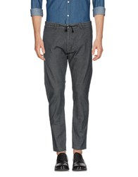 Officina 36 Casual Pants Steel Grey