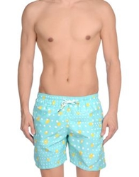 Franks Swimming Trunks Light Green