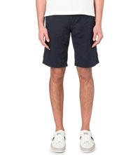 Hugo Boss Palm Tree Print Shorts Navy