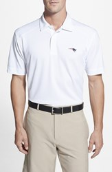 Men's Cutter And Buck 'New England Patriots Genre' Drytec Moisture Wicking Polo