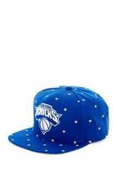 Mitchell And Ness Knicks Starry Night Glow In The Dark Snapback Black