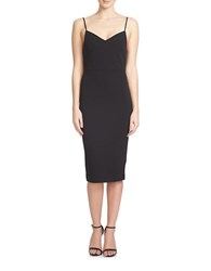 1.State Spahetti Strap Slip Dress Black