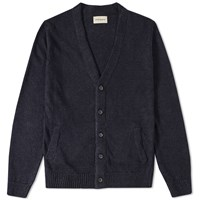 Oliver Spencer Mayfield Cardigan Blue