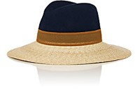 Lanvin Women's Combo Fedora Blue Tan No Color